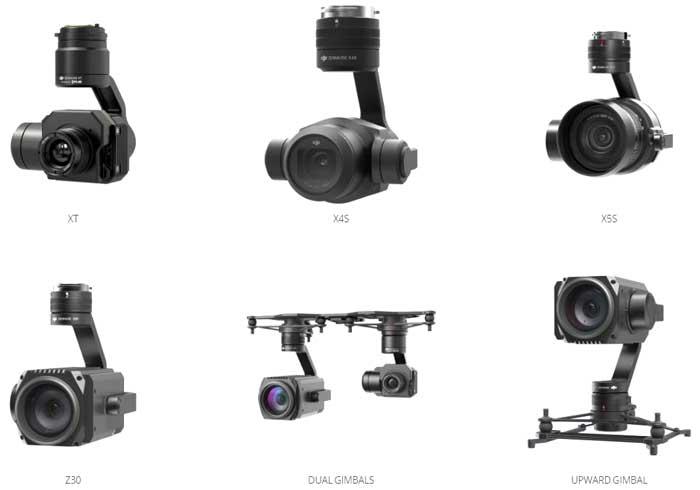 m210 cameras